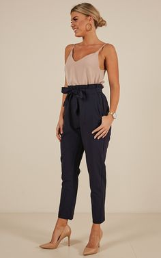Shop Showpo's chic range of women's work pants with new looks daily from culottes to capris & wide leg pants. Buy now, wear tomorrow! Classy Business Outfits, Business Attire, Classy Outfits, Cute Outfits, Flowy Pants Outfit, Formal Jackets For Women, Cute Fashion, Fashion Outfits, Professional Outfits