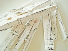 distressed clothes pins
