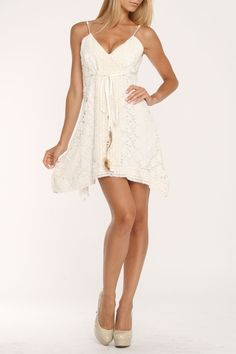 Meghan Seychelles Dress In Ivory - Beyond the Rack  $129.99 http://www.beyondtherack.com/member/invite/NAW8F096D8A