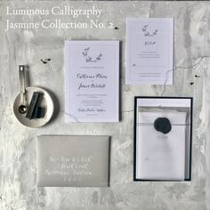 Items similar to SemI-Custom Invitation Suite - Jasmine Collection on Etsy Addressing Envelopes, Invitation Envelopes, Invitation Suite, Custom Invitations, Invitation Cards, Wood Table Numbers, Wax Seals, Save The Date Cards, Be Yourself Quotes
