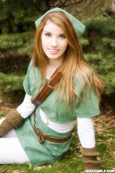 Great Female Link Cosplay on Global Geek News. Halloween costume for this year? L Cosplay, Halloween Cosplay, Best Cosplay, Cosplay Costumes, Halloween 2014, Awesome Cosplay, Anime Cosplay, Cosplay Ideas, Halloween Ideas