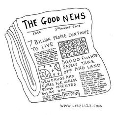 Imagine if there was a newspaper that was just dedicated to positive news?