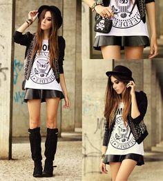 Aremo T Shirt, Aremo Jacket, Aremo Vest, Aremo Skirt, Santafina Clutch, Lança Perfume Boots
