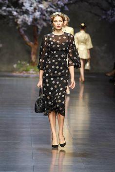 Dolce & Gabbana Womens wear Spring Summer 2014 Fashion Show Collection