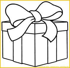 Cadeau... grand cadeau à colorier