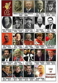 List of Liverpool FC Managers Shared by Motorcycle Fairings - Motocc Gerrard Liverpool, Liverpool Anfield, Liverpool Legends, Liverpool History, Liverpool Home, Liverpool Football Club, Best Football Team, Football Fans, College Football