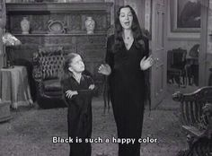 black is the happiest color :)