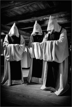 Cistercian Monks in Kloster Walkenried