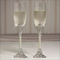 Toasting Flutes Hily Ever After 715781769847 Hliy Make A Great Wedding Flute Set For Your Reception