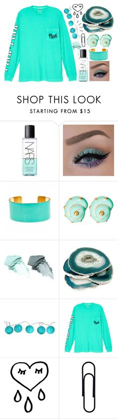 """""""ineresting"""" by kiyaxskye2015 ❤ liked on Polyvore featuring NARS Cosmetics, Fornash, Ciner, Room Essentials, Victoria's Secret and Old Navy"""