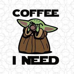 coffee vector Baby yoda coffee i need svg, baby yoda coffee vector tshirt design on Buytshirtdesigns Tema Star Wars, Star Wars Art, Cute Disney Wallpaper, Cute Cartoon Wallpapers, Yoda Images, Coffee Vector, Cute Cartoon Drawings, Star Wars Wallpaper, Shirt Template
