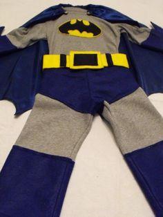 DIY Superhero Costume : DIY Batman and Robin Costume : DIY Halloween