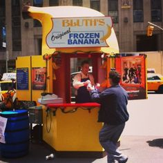 The Bluth Banana Stand