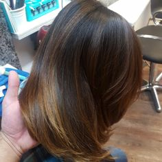 balayage, ombre, highlights