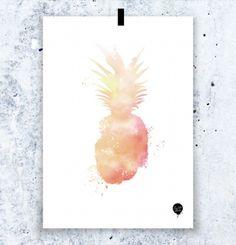Fantastisk fin og kul plakat med illustrasjon av utrolig dyktige Hanne fra Lovedales Studio. Dette er illustrasjoner med akvarell og digital fargelegging. Trykkes på kvalitetspapir, selges uten ramme og sendes til deg i papprør.  MÅL: A4 = 21 x 29,7 cm  Design: Hanne Løvdal/Lovedales Studio