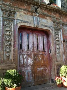 Entrance to Wilton's Music Hall (East London) - one of the last surviving Victorian music halls in London. Still in use.