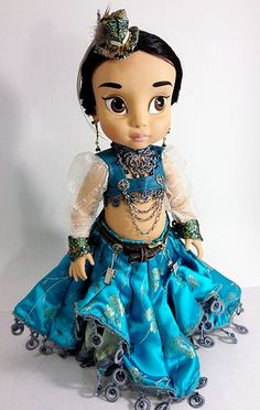 Re-Dressed Disney Animators' Collection 16'' Doll — Steampunk Jasmine