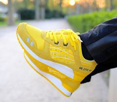 Asics Gel Lyte III CMYK Pack–Yellow