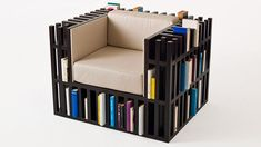 Behold: A throne that's also a book shelf for 300 books! - Lost At E Minor: For creative people