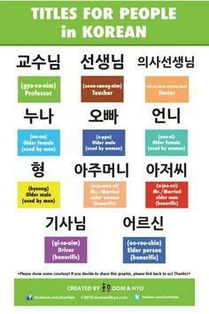 Korean Language Infographics – Page 12 – Learn Basic Korean Vocabulary & Phrases with Dom & Hyo Korean Words Learning, Korean Language Learning, Learn A New Language, Learn Basic Korean, How To Speak Korean, Korean Phrases, Korean Quotes, Learn Hangul, Korean Writing