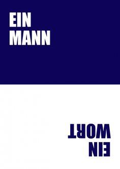 Ein Mann, ein Wort | 180° | Echte Postkarten online versenden | MyPostcard.com