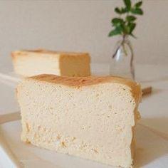 秘密にしたい♪簡単ベイクドチーズケーキ Dessert Cake Recipes, Sweets Cake, Cute Desserts, Sweets Recipes, Cheesecake Recipes, Cookie Recipes, Ramen Recipes, Carrot Recipes, Cabbage Recipes