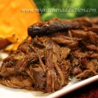 Mexican Shredded Beef - Carne De Res Deshebrada in a slow cooker.  ♥ Group Recipes