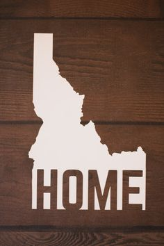 There's no place like home! This decal comes as a transfer decal and is perfect for vehicles, windows, laptops, filing cabinets and more!