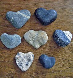 Part of Heart Shaped Rock Collection | Flickr - Photo Sharing!