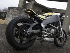 "Planet Japan Blog: Buell ""Battle-Cyclone 01"" by Taste Concept Motor Cycle Japan rear"