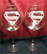 Our wedding wine glasses will have Batman on them Superman Wedding Theme, Batman Wedding, Renewal Wedding, Our Wedding, Dream Wedding, Wedding Ideas, Wedding Stuff, Wedding Crafts, Wedding Cake