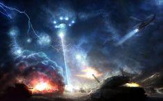 beam of light in war