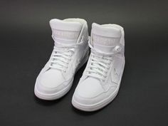 9b3c053aaf6 Converse Weapon Mid Unisex Sneakers Trainers White Lace up 147472C Shoe  Size 13 #Converse #