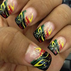 My Jamaica Nails