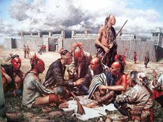 American Indian Wars, Native American Indians, Woodland Indians, Eskimo, Seven Years' War, Great Lakes Region, Iroquois, American Frontier, Historical Art