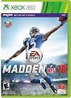 XBOX 360 GAME MADDEN 16 NFL FOOTBALL 2016 BRAND NEW SEALED