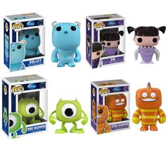 POP Vinyl #Monsters Inc Set #pixar #fanart