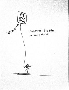 Draw More Stick Figures. Dana Marcelle, Kite flying