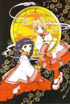 Sakura and Tomoyo from Card Captor Sakura