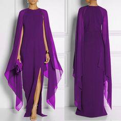 Women's Chiffon Mosaic Dress Atmosphere Irregular Dress is cheap sale on newchic, pick chiffion dresses and show your beauty now. The Cardigans, Chiffon Dress Long, Chiffon Fabric, Mother Of The Bride, Ideias Fashion, Lady, Outfits, Gq Fashion, Dress Fashion