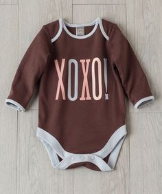Wrap baby in hugs and kisses with this soft cotton bodysuit exclusively from Hallmark Baby. Baby Clothes Sale, Babies Clothes, Hallmark Baby, 3rd Baby, Baby Baby, Holiday Outfits, Holiday Clothes, Gender Neutral Baby Clothes, Future Baby