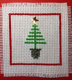 Small easy stitched tree