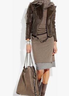 Stylish outfit idea to copy ♥ For more inspiration join our group Amazing Things ♥ You might also like these related products: - Vests ->. Donna Karan, Trendy Dresses, Fashion Dresses, Classy Outfits, Casual Outfits, Girly Outfits, Style Casual, Street Style, Autumn Winter Fashion