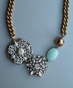 Venice Necklace @Kelsea kosko kosko Sparks teal and has a snowflake!