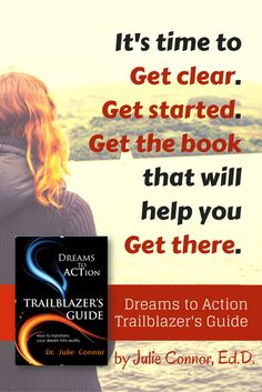 DREAMS TO ACTION TRAILBLAZER'S GUIDE - Check out the awesome preview & reviews on Amazon. Transform your dream into reality.