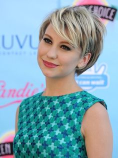 chelsea kane short hair | More Pics of Chelsea Kane Short cut with bangs (3 of 8) - Short ...