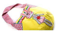 Liebhabestücke aus aniswelt: Farbenmix ABC Sewalong - B Beuteltasche vom Taschenspieler III