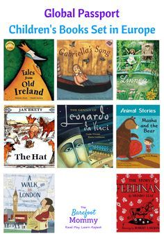Take your child on a global journey with picture books set in Europe. These books will help your child sample folktales, art, music, and culture from Ireland, England, France, Italy, Spain, Russia, and more.