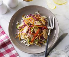 Recipes - Thai Chicken Broccoli Slaw Stir-Fry