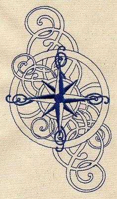 Compass – tattoo idea